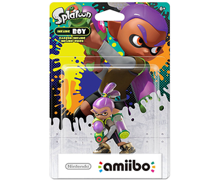 Amiibo Splatoon - Boy ALT COLORS