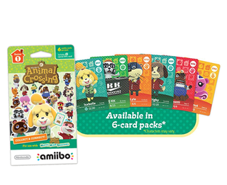 Amiibo Cards Animal Crossing - PACK de 6 Unidades