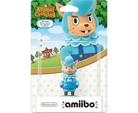 Amiibo Animal Crossing Series - Cyrus