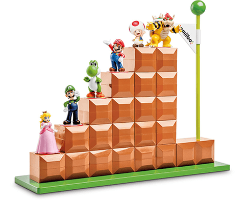 Amiibo End Level Display