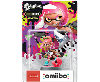Amiibo Splatoon - New Inkling Girl (Neon Pink)