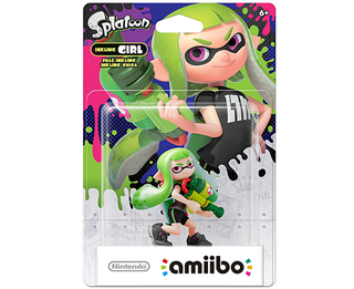 Amiibo Splatoon - Girl ALT COLORS