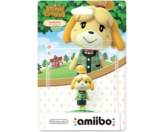 Amiibo Animal Crossing Series - Isabelle SUMMER Outfit/ Winter Outfit