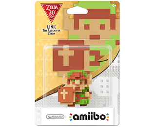 Amiibo 30th Anniversary Zelda - Link 8 Bit - The Legend of Zelda