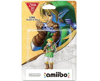 Amiibo 30th Anniversary Zelda - Link  - Ocarina of Time