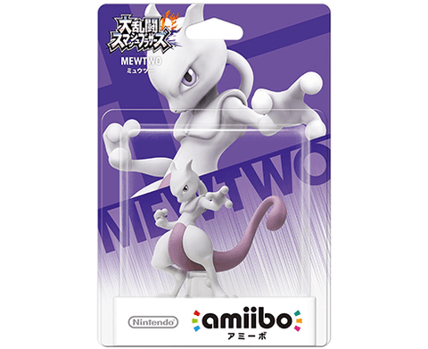 Amiibo Super Smash Bros. - Mewtwo
