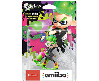 Amiibo Splatoon - New Inkling Boy (Neon Green)