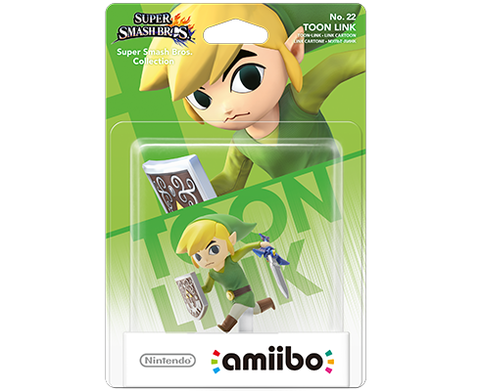 Amiibo Super Smash Bros. - Toon Link