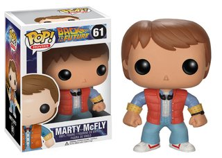 Funko Pop! Back to the Future - Marty Mc Fly
