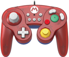 HORI Nintendo Switch Battle Pad (MARIO) GameCube Style Controller - Nintendo Switch - comprar online