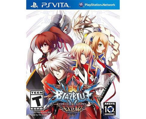 BlazBlue: Chrono Phantasma - PlayStation Vita EXTEND Edition
