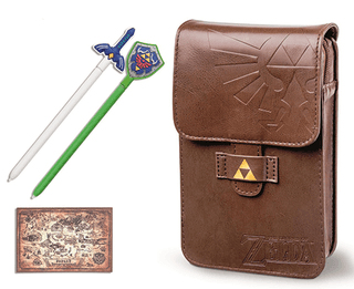 Estuche Case The Legend of Zelda Adventurer´s Pouch Kit + 2 Stylus + Hyrule Map