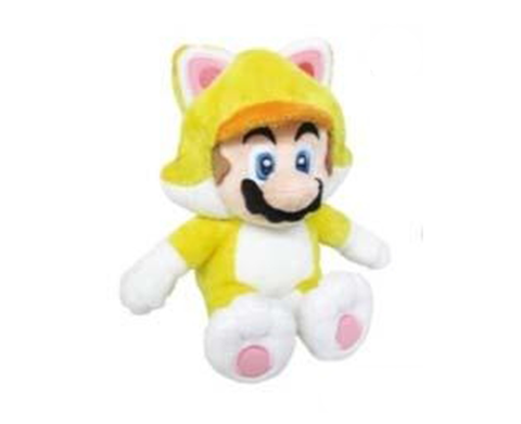Plush Cat Mario 23cm