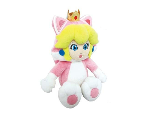 Plush Cat Peach 23cm