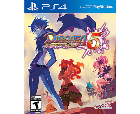 Disgaea 5 : Alliance of Vengeance - PS4
