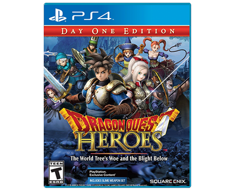 Dragon Quest Heroes - DAY ONE EDITION - The World Tree´s Woe and the Blight Below