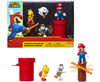 "Super Mario Nintendo Dungeon 2.5"" Figure Multipack Diorama Set with Accessories (incluye a MARIO, KOOPA y DRY BONES)"