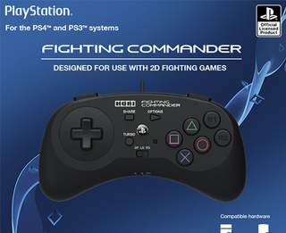 HORI Fighting Commander for PlayStation 4