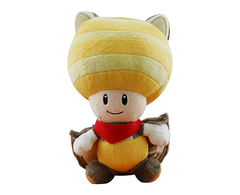 Plush Flying Squirrel Toad Yellow 20cm