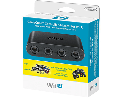Gamecube Controller Adapter ORIGINAL - WII U