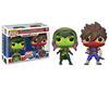 Funko Pop Games: GAMERVERSE Marvel vs Capcom - Gamora Vs Strider Collectible Figure