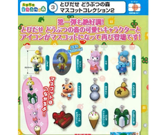 Gashapon / Strap - Animal Crossing- Set completo de 10 unidades SERIES 2 - JAPON