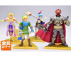 Gashapon The Legend of Zelda - Hyrule Warriors Set de 4 completo JAPON