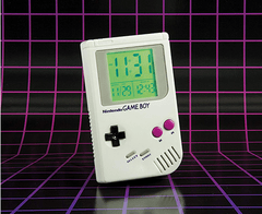 Gameboy Alarm Clock Game Boy