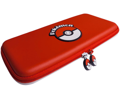 HORI Nintendo Switch Poke Ball Tough Pouch Officially Licensed By Nintendo & Pokemon - Nintendo Switch