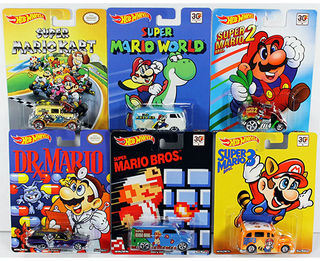 Hot Wheels Pop Culture: Super Mario Brothers - 30th Aniversary