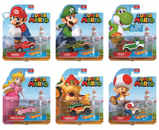 Hot Wheels Super Mario