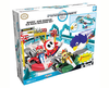 KNEX Mario And Bowser ICE RACE Building Set Pista con 2 Karts Motorizados!