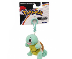 Pokemon Keychain Plush - Squirtle - Official Tomy 10cm