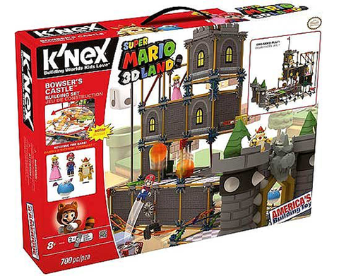 KNEX BUILDING SET - Bowser´s Castle