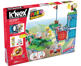 KNEX BUILDING SET - Cat Mario - Super Mario 3d World