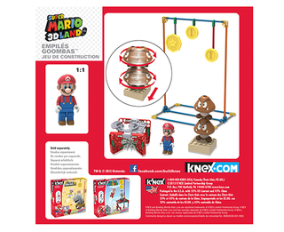 KNEX BUILDING SET - Stacked Goombas - Super Mario 3D Land - comprar online