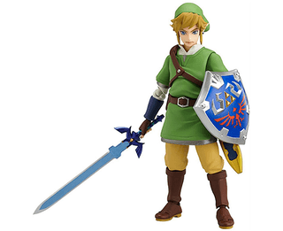 Good Smile The Legend of Zelda: Skyward Sword Link Figma Action Figure