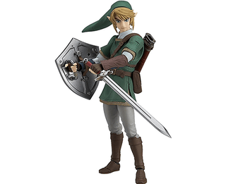 The Legend of Zelda Twilight Princess Link (Deluxe Version) Figma Action Figure