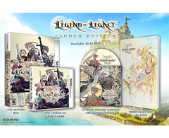 The Legend of Legacy - Launch Edition BONUS Included (Hardcover 40 page Art Book + OST )