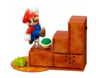 New Super Mario Bros Sound Figure (4 modelos distintos, con sonido!) - hadriatica