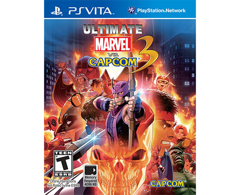 Ultimate Marvel Vs. Capcom 3 Ps Vita