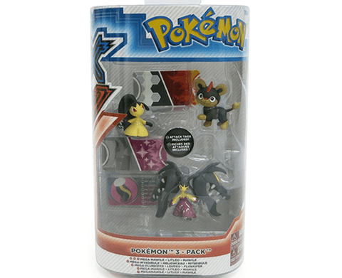Pokemon XY  3 Pack TOMY