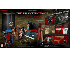 Metal Gear Solid V : The Phantom Pain - COLLECTOR EDITION (incluye brazo de Snake!!!)
