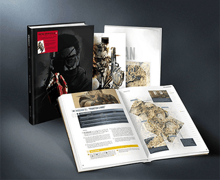 Metal Gear Solid V: The Phantom Pain: The Complete Official Guide Collector's Edition Hardcover