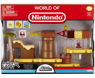 World of Nintendo - Micro Land Deluxe Pack : Layer Cake Desert