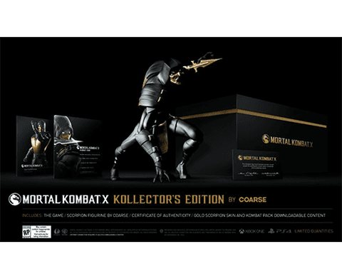Mortal Kombat X - Kollector`s Edition by Coarse