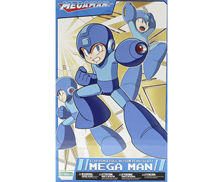 MEGAMAN - MEGA MAN 1/10 Scale Full Action Plastic Kit KOTOBUKIYA