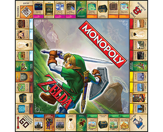 Monopoly: The Legend of Zelda en internet