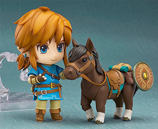 Good Smile The Legend of Zelda: Breath of The Wild Link DELUXE Nendoroid Action Figure