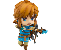 Nendoroid - Good Smile The Legend Of Zelda: Breath Of The Wild: Link Action Figure Nendoroid